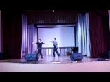 Дамир и Соня Попури Латина Репетиция