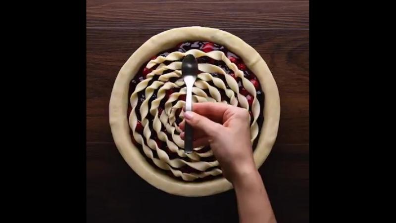 Украшаем пирог l Lucky Craft – подпишись