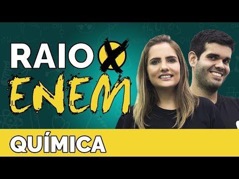 Raio X ENEM Os temas mais cobrados de Química - Prof. Caroline Azevedo e Thiago Oliveira