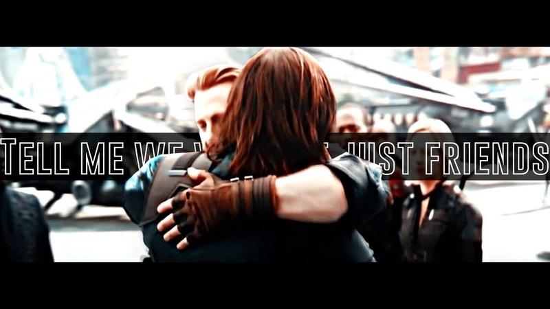 Steve x Bucky | Tell Me We Weren't Just Friends