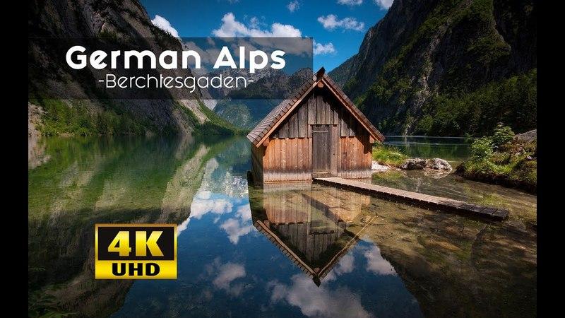 German Alps From Above MUST SEE Views Berechtesgadener Land 4k | Königsee