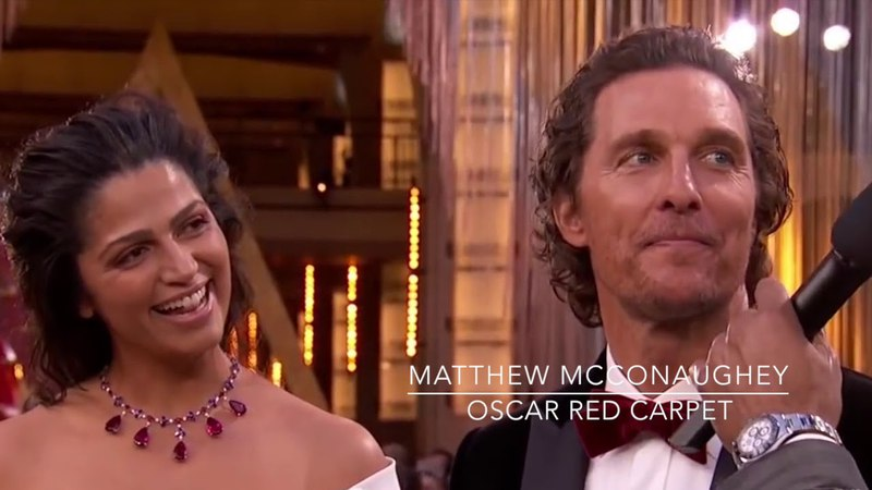 Oscar Red Carpet 2018 With Timothêe Chalamet, Matthew Mcconaughey and Gary Oldman