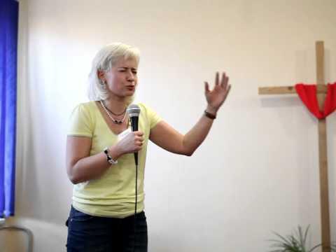 КАРЕЛИЯ, МЕДВЕЖЬЕГОРСК Оксана свидетельствует о славе Божьей!