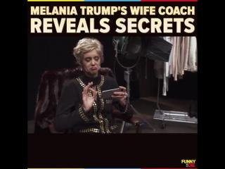 Melania trump's wife coach reveals secrets with nina dobrev