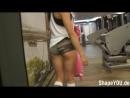 Stephanie Davis (Австрия) - красивая фитнес-бикини модель. Тренировка в фитнес зале. Рекомендую!7