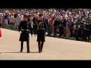 Prince Harry and William arrive for the RoyalWedding.mp4