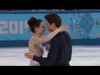 Тесса Вирту и Скотт Моир, Сочи-2014
