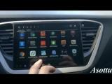 Asottu c17yn9060 coche DVD GPS para el nuevo Hyundai Verna 2017
