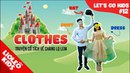 Tiếng Anh cho bé qua sách Lets Go 12 Trang phục - Clothes Lioleo Kids
