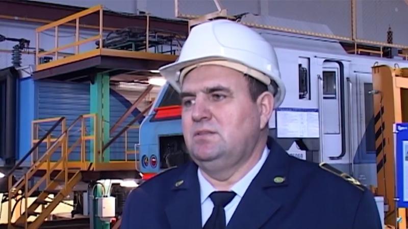 Спецрепортаж 16 января 2018. Ремонт китайских электровозов на Локомотивном депо.