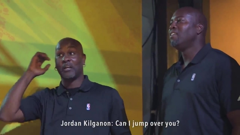NBA Legends CRAZY Reactions to 61 Dunker