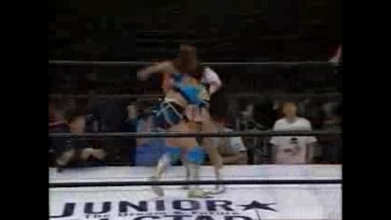 12. Meiko Satomura, Rie Tamada vs. Michiko Omukai, Chikako Shiratori (5/18/1994)