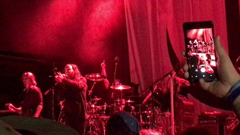 Jonnathan Davis w/Ray Luzier Black Labyrinth Tour 2018 House Of Blues San Diego