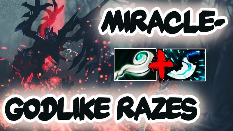 Miracle- Shadow Fiend God back to YaphetS Magic Build with Euls Combo - Dota 2