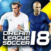 Установить  Dream League Soccer 2018 [Мод: много денег]