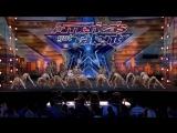 Zurcaroh- Golden Buzzer Worthy Aerial Dance Group Impresses Tyra Banks - Americas Got Talent 2018