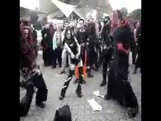 Cyber Gothic dance