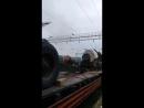 Прибытие ретро-поезда на ст. Сарепта