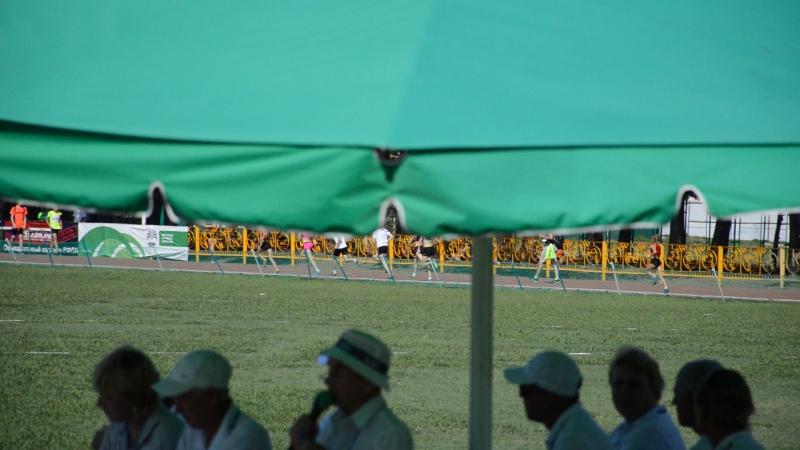 Марина Филинкова на дистанции 500 метров