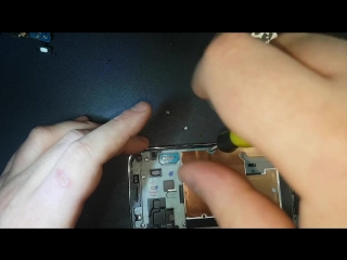 Samsung S5 Mini USB замена усб нижнего шлейфа, usb replacement repair usb tausch