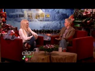 Christina Aguilera Ellen DeGeneres show