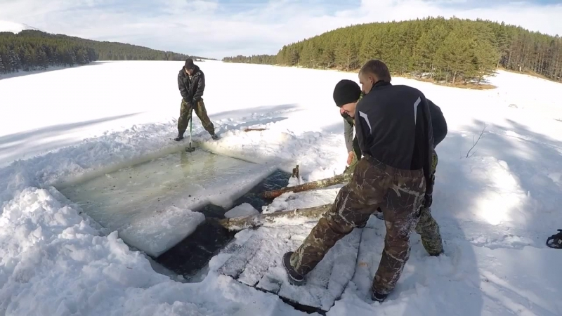Зимняя экспедиция на горное озеро Хорла Кель
