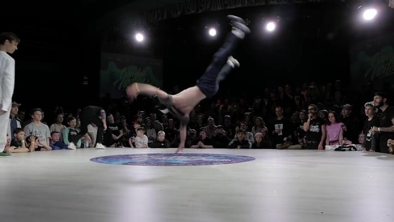 DEBOSHIR MUHA vs DENY ROCK MAH - POWER MOVE 2x2 - FINAL - COMBONATION X - KA