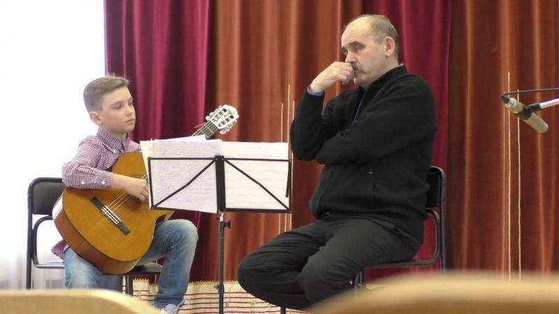 мастер класс Гильманова 6 весенних струн