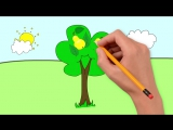 Мультфильм про фрукты. Развивающие мультики для детей