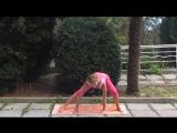 Суставная гимнастика для ног. Разминка перед поперечным шпагатом _ Articular exe
