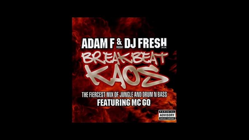 D.J.ADAM D.J.FRESH Feat. MC.GQ - BREAK-BEAT KAOZ, DISC-ONE CD-1, 56-MIN