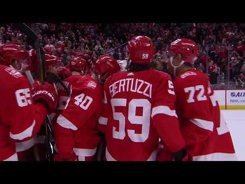 Nielsen, Howard lead Red Wings in SO to defeat Rangers