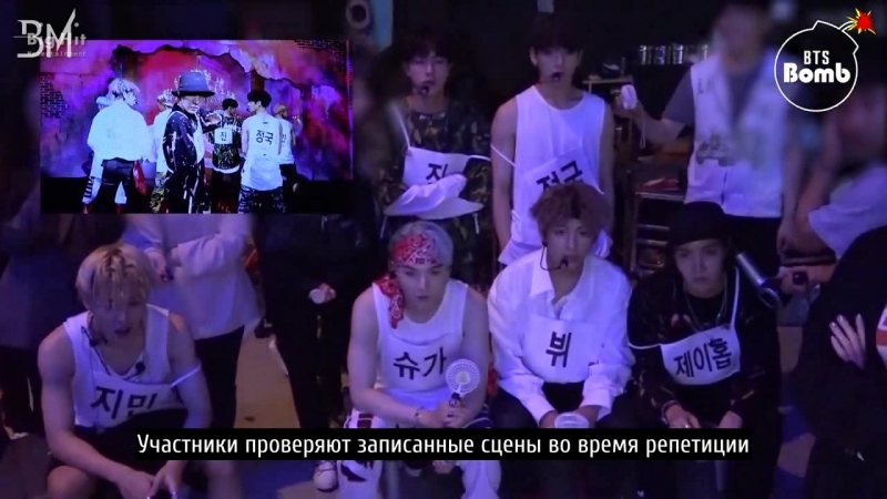 [RUS SUB][BANGTAN BOMB] Behind the stage of 'MIC Drop' @BTS DNA COMEBACK SHOW - BTS (방탄소년단)
