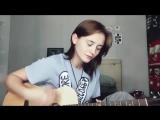 Лера Яскевич сыграла в акустике песню Мария Чайковская - Люблю by Лера Яскевич