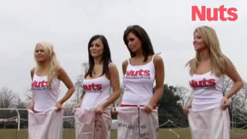 Holly Peers - Nuts 2010 - Sports Day with Emma Glover , Emily , Stacey