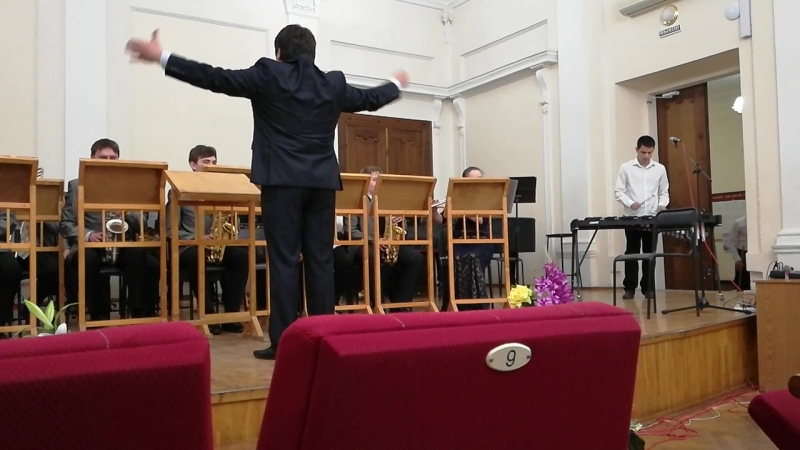 Аяз Нигматзянов - Кротил На арене цирка пьеса для ксилофона с оркестром