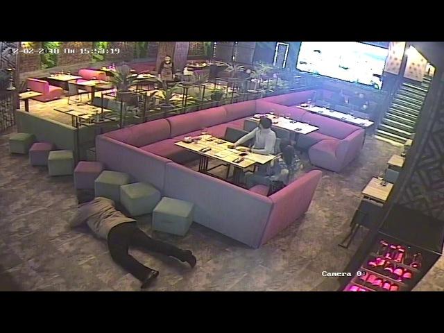 Как похищали Саакашвили. Видео с камер наблюдения.