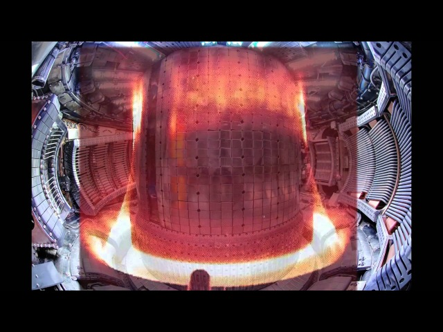 Alcator C-Mod Plasma Discharge