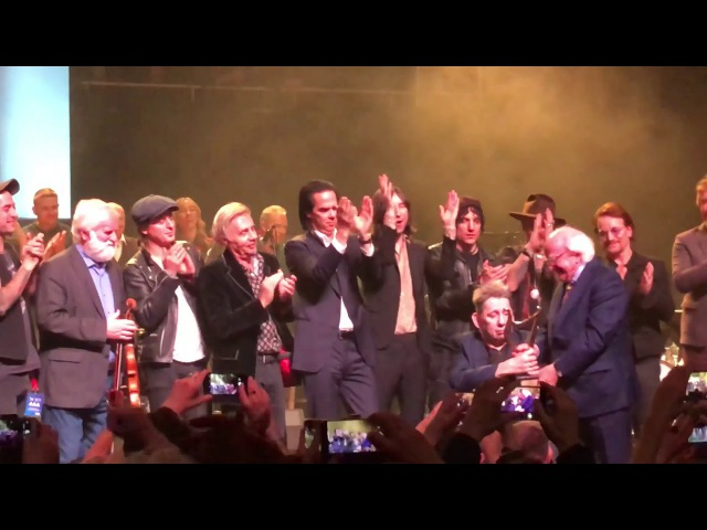 Shane Mac Gowan's 60th Birthday Party - all Artists and Shane- Grand Finale