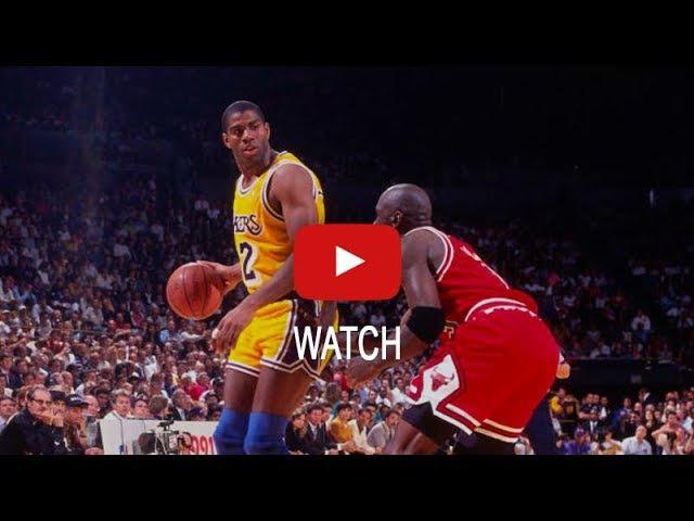NBA Finals 1991. Lakers vs Chicago Bulls. Game 3. Jordan 2999, Pippen 1913, Magic 22610 HD 720p