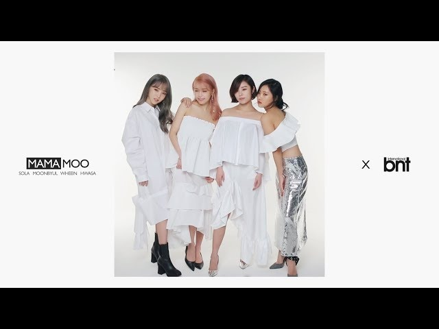 [bnt영상] 그룹 마마무 화보