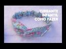DIY Turbante de tecido infantil | Nathália Armelin