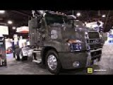 2018 Mack Anthem 62T Day Cab 6x2 with Liftable Axel - Walkaround - 2017 NACV Show Atlanta