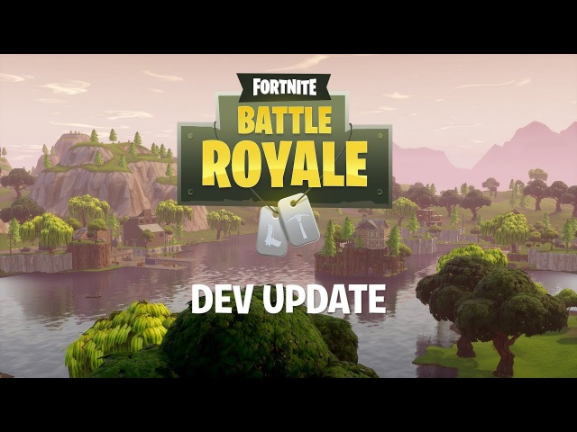Battle Royale Dev Update 5 Incoming Map Update
