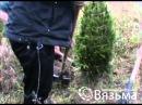 Выкопка деревьев вручную