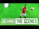 Pierre-Emerick Aubameyang reunites with Henrikh Mkhitaryan | Behind the scenes