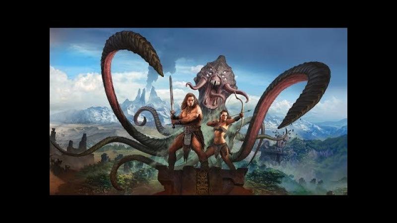 Conan Exiles, Вызов богов, и Защита базы.