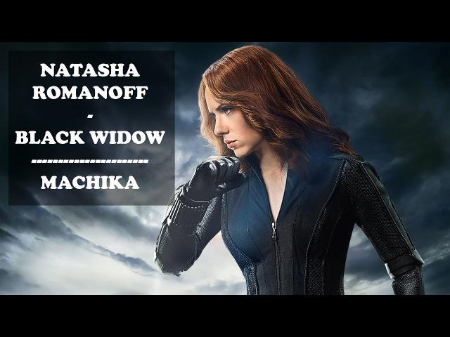 Natasha Romanoff | Black Widow | Scarlett Johansson | (Marvel) - Machika