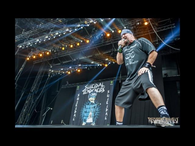 Suicidal Tendencies Subliminal Live at Resurrection Fest EG 2017