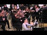 В.А.Моцарт - Концерт №23 для Фортепиано с оркестром KV488 25.01.2016 Мария Полшкова, МФСО СПб